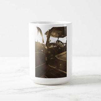 Taza del coche del vintage