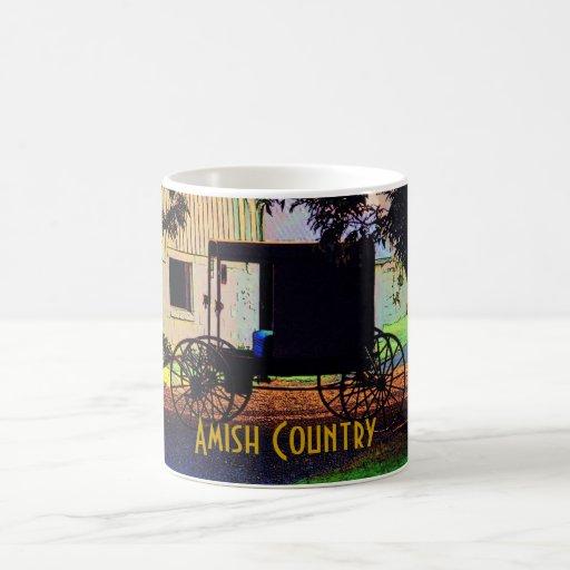 Taza del cochecillo de Amish
