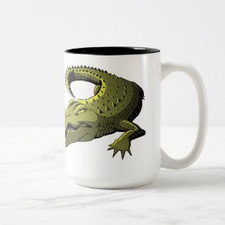 Taza del cocodrilo