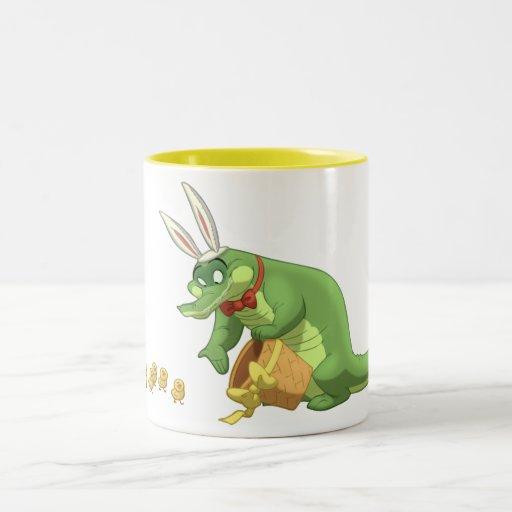Taza del cocodrilo de Pascua