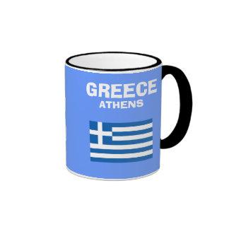 Taza del código de país de Greece* GR