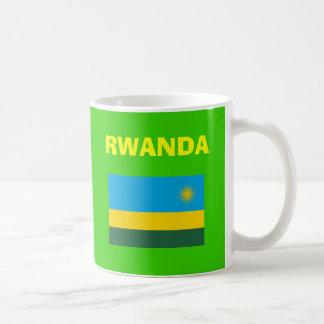 Taza del código de país de RW Rwanda*