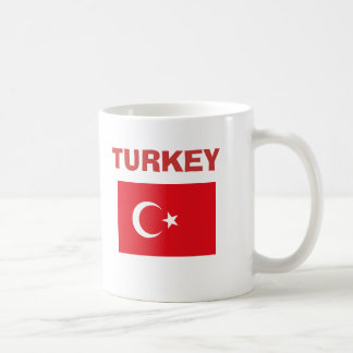 Taza del código de país de Turkey* TR