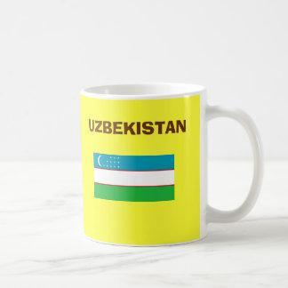 Taza del código de país de UZ Uzbekistan*