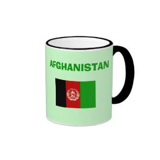 Taza del código de país del AF Afganistán