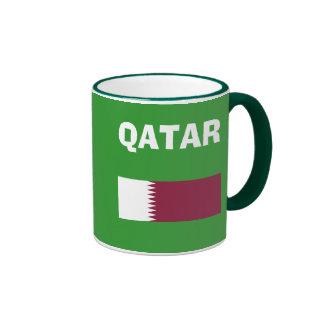 Taza del código de país del QA de Qatar*