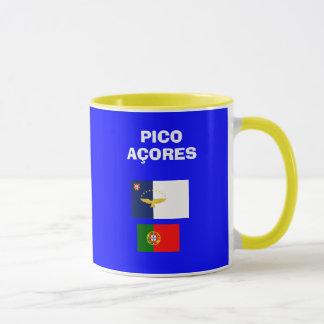 Taza del código de Pico PIX Aiport