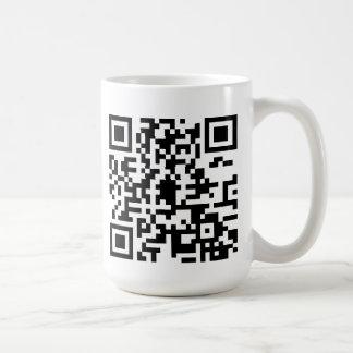 Taza del código de QR