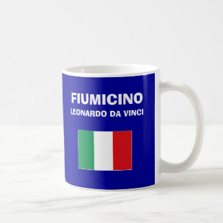 Taza del código del aeropuerto de Roma Fumicino FC