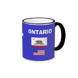 Taza del código del aeropuerto del Ontario Ontario