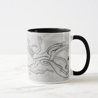 taza del coffe con mi dibujo original