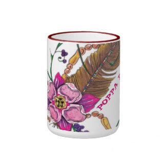 taza del coffe de 15 onzas con diseño