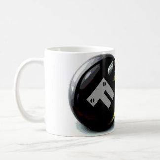 Taza del coffe de la bomba de F