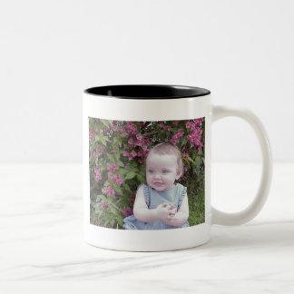 ¡TAZA del *COFFE - modifique ese regalo para Taza Dos Tonos