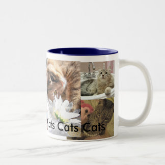 Taza del collage del gato # 5