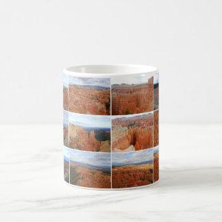 Taza del collage del parque nacional del barranco