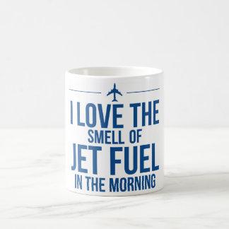 Taza del combustible de avión
