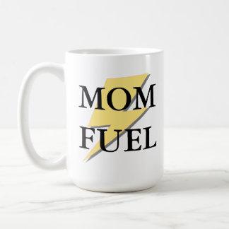 Taza del combustible de la mamá