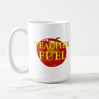 Taza del combustible del profesor
