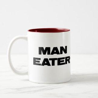 Taza del comedor del hombre