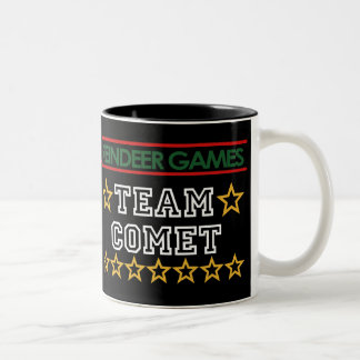 Taza del cometa del equipo