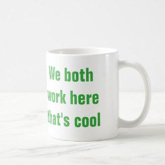 taza del compañero de trabajo
