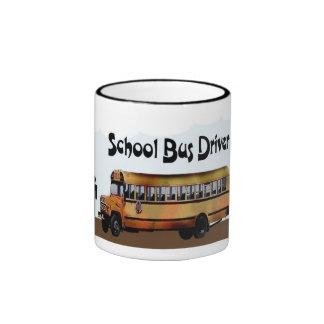 Taza del conductor del autobús escolar