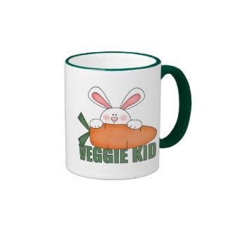 Taza del conejo del niño del Veggie