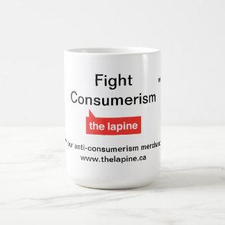 Taza del consumerismo de la lucha