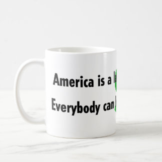 Taza del contribuyente de América