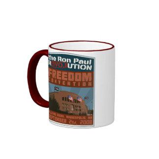 Taza del convenio de Ron Paul