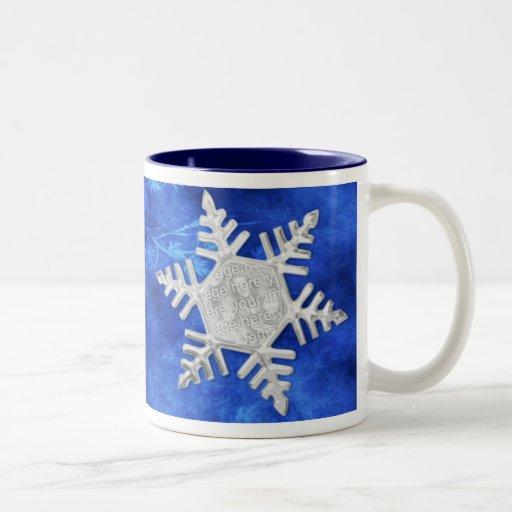 Taza del copo de nieve - modificada para