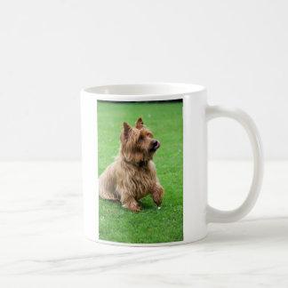 Taza del corazón del amor del perro I de Terrier a