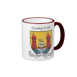 Taza del corcho del condado