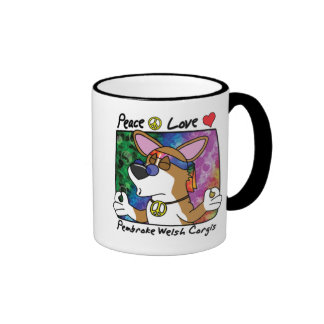 Taza del Corgi Galés del Pembroke del amor de la