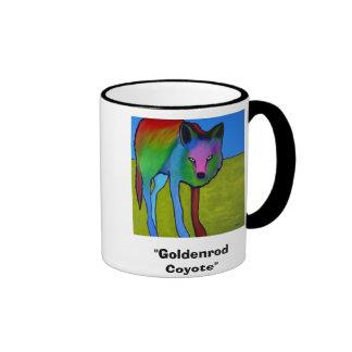"""Taza del """"coyote amarillo oscuro"""""""