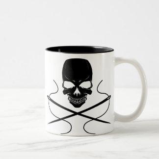 Taza del cráneo y del Aguja-Café