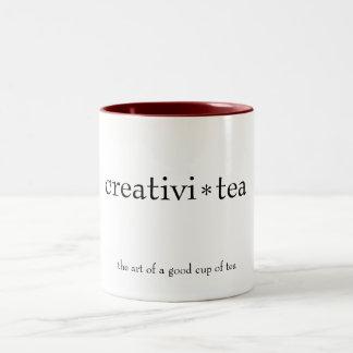 "taza del ""creativi-té"""