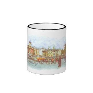 Taza del cuadrado de Trafalgar