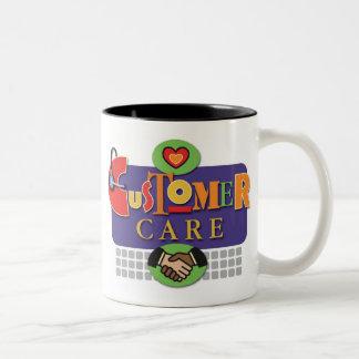 """""""Taza del cuidado del cliente"""""""