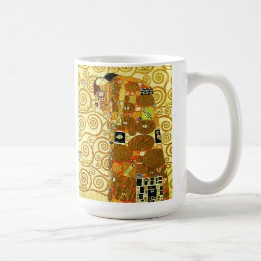 Taza del cumplimiento de Gustavo Klimt