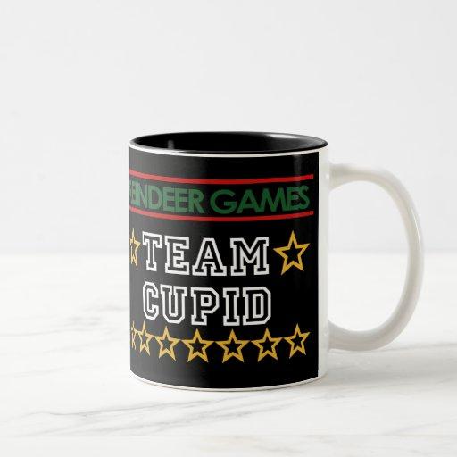 Taza del Cupid del equipo