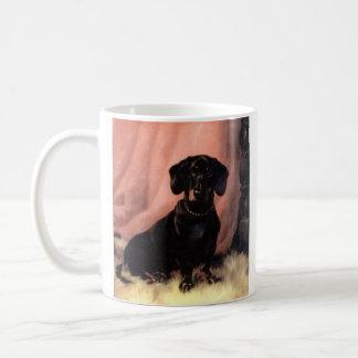 taza del dachshund