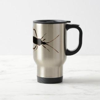 Taza del ~ de la silueta del insecto