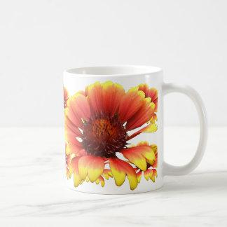 Taza del ~ de las flores combinadas