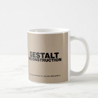 Taza del Deconstruction de la gestalt