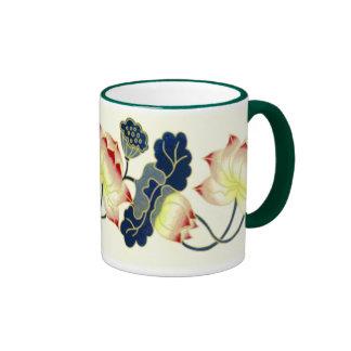 Taza del ~ del flor de Lotus