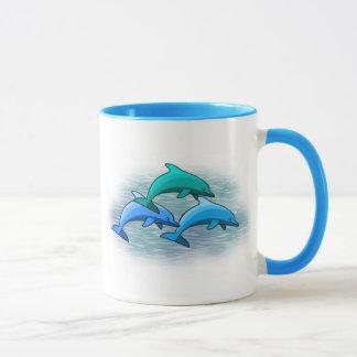 Taza del delfín