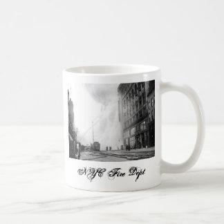 Taza del departamento del fuego de 1909 NYC