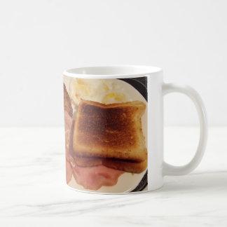 taza del desayuno